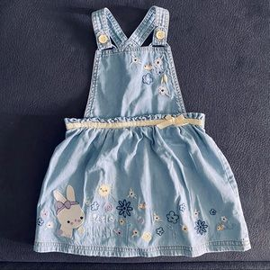 Baby Easter Pinafore Dress (12-18m)